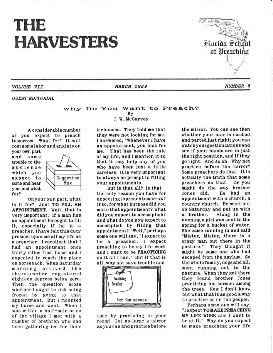 Harvester 1989 - Mar