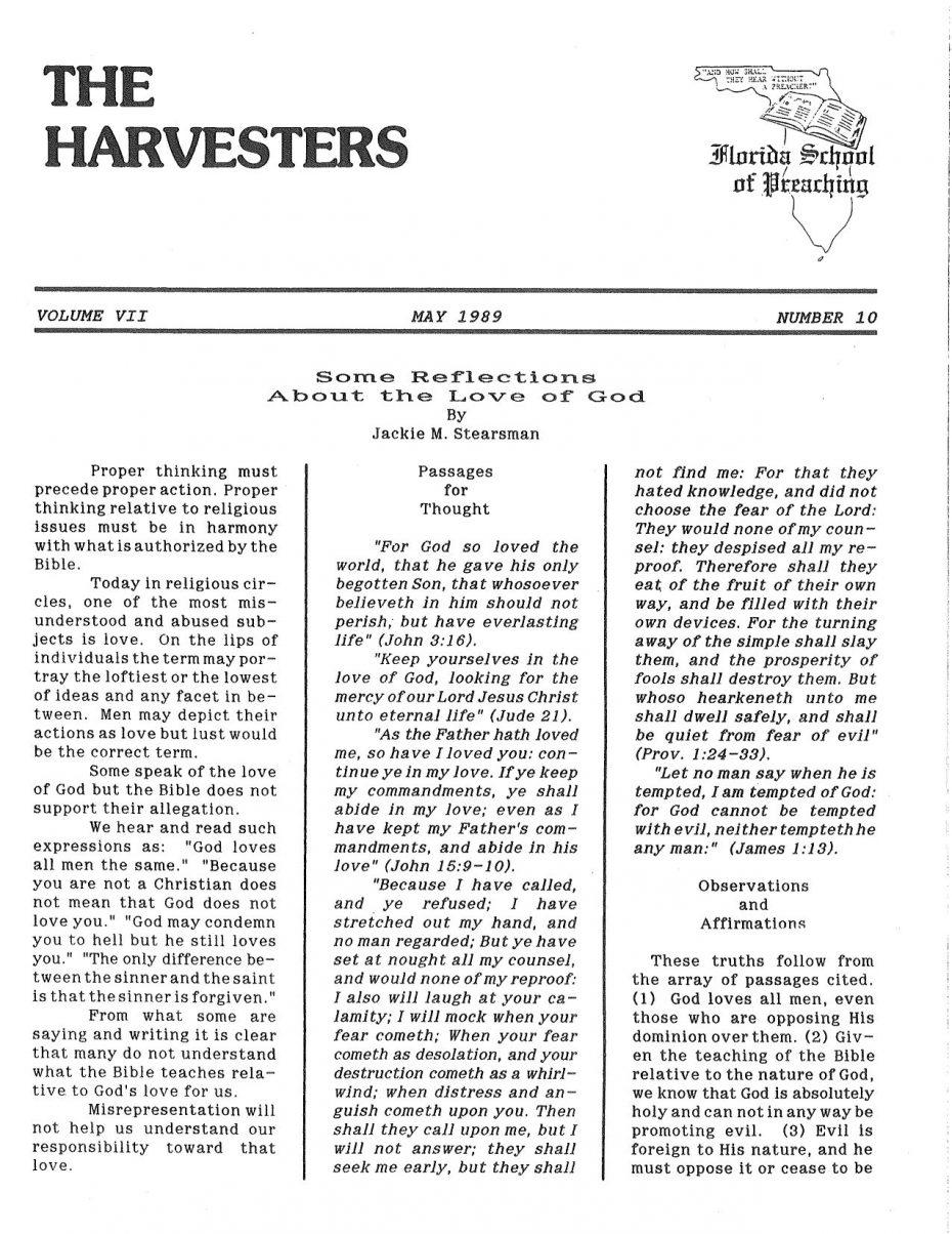 Harvester 1989 - May