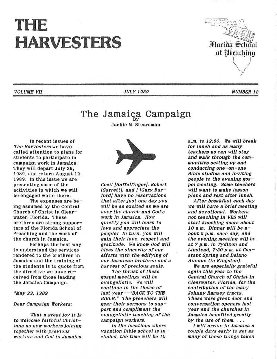 Harvester 1989 - July