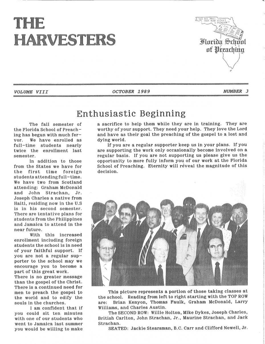 Harvester 1989 - Oct.