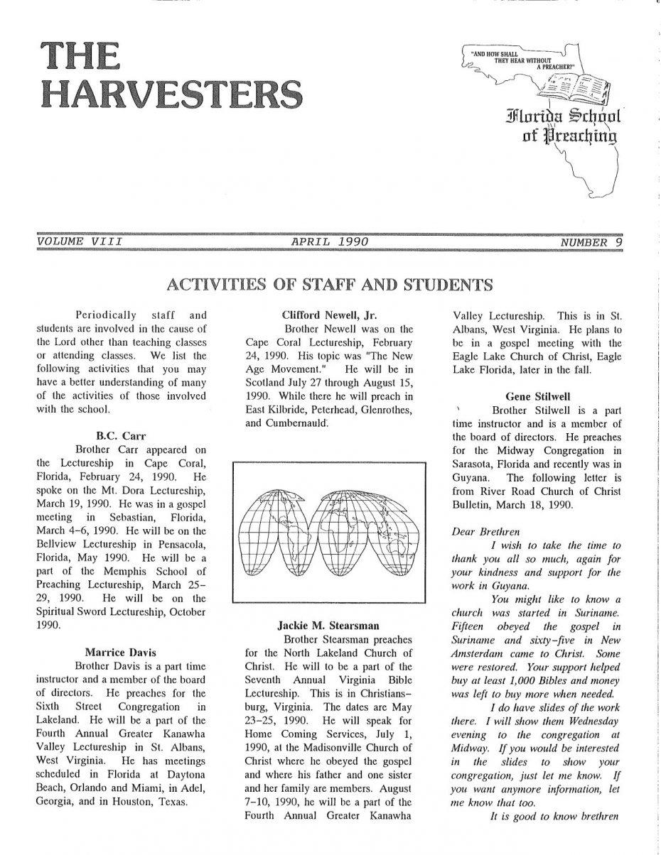 Harvester 1990 - Apr