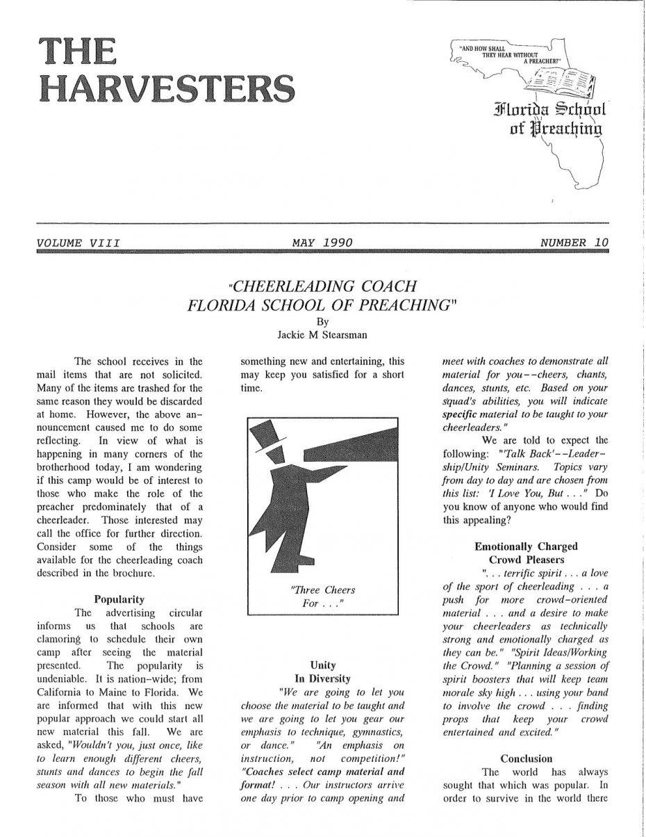 Harvester 1990 - May