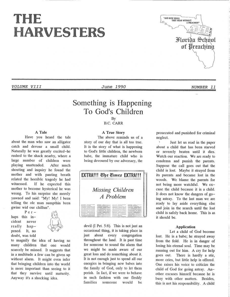 Harvester 1990 - June