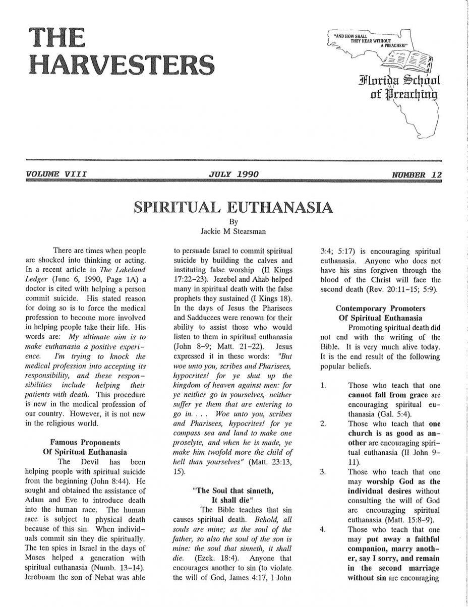 Harvester 1990 - July