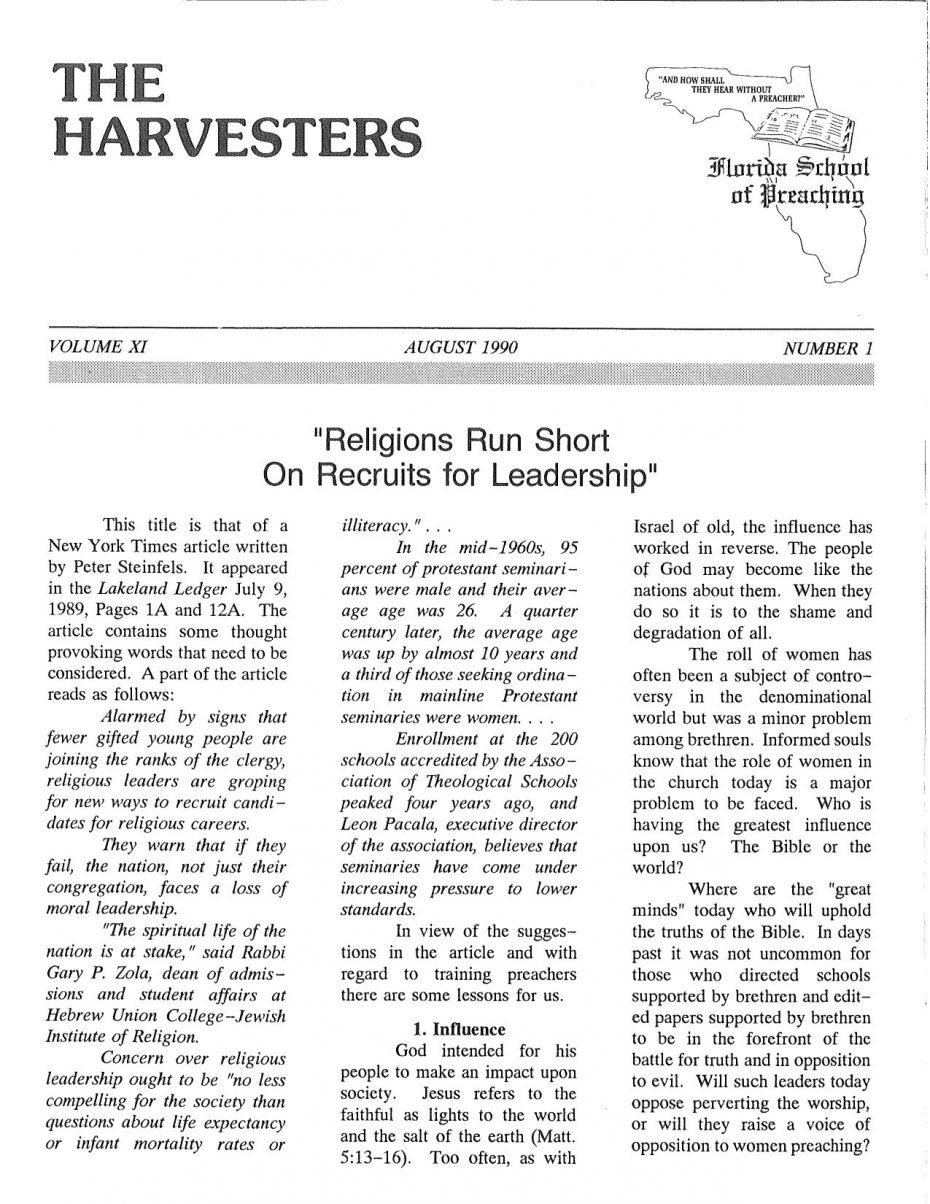 Harvester 1990 - Aug.