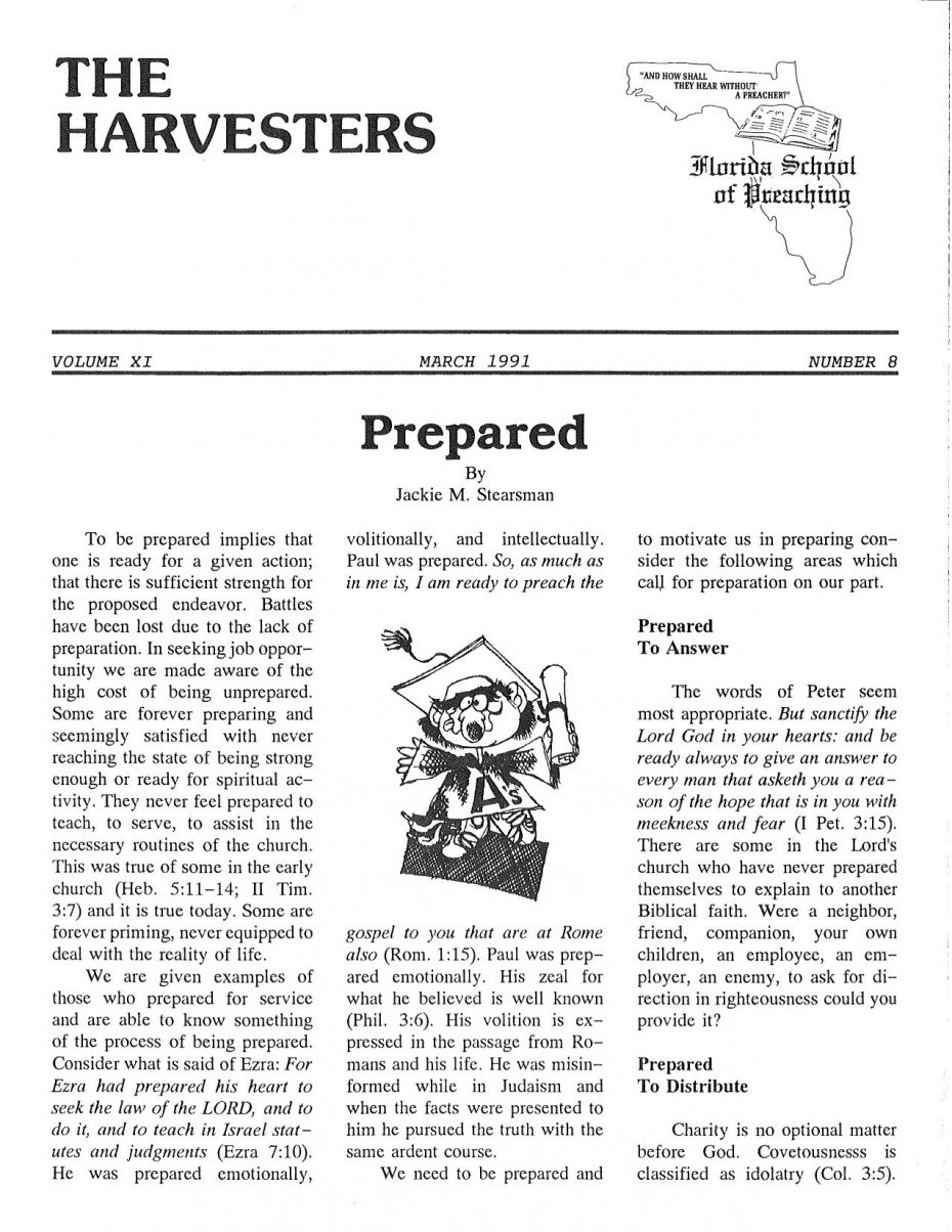 Harvester 1991 - Mar
