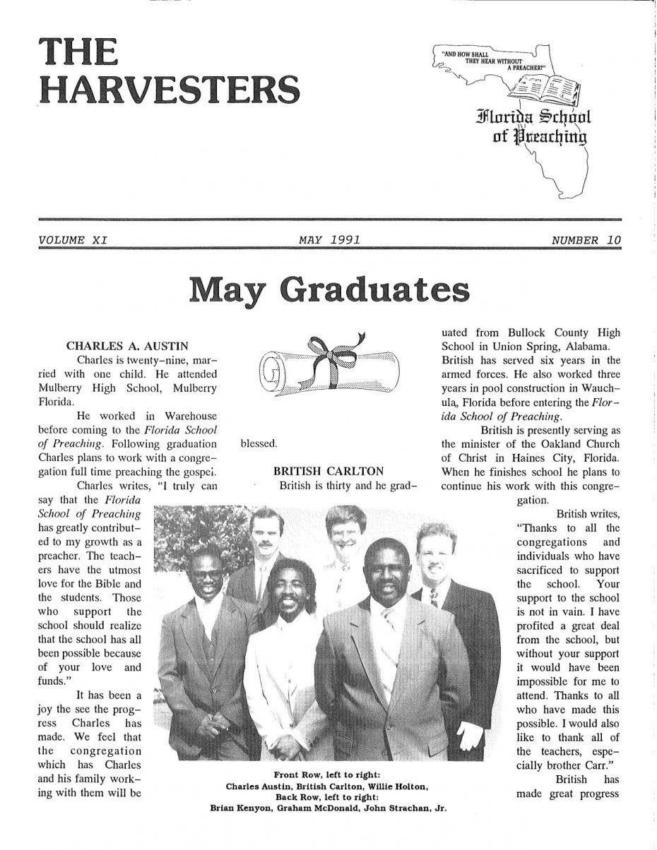 Harvester 1991 - May