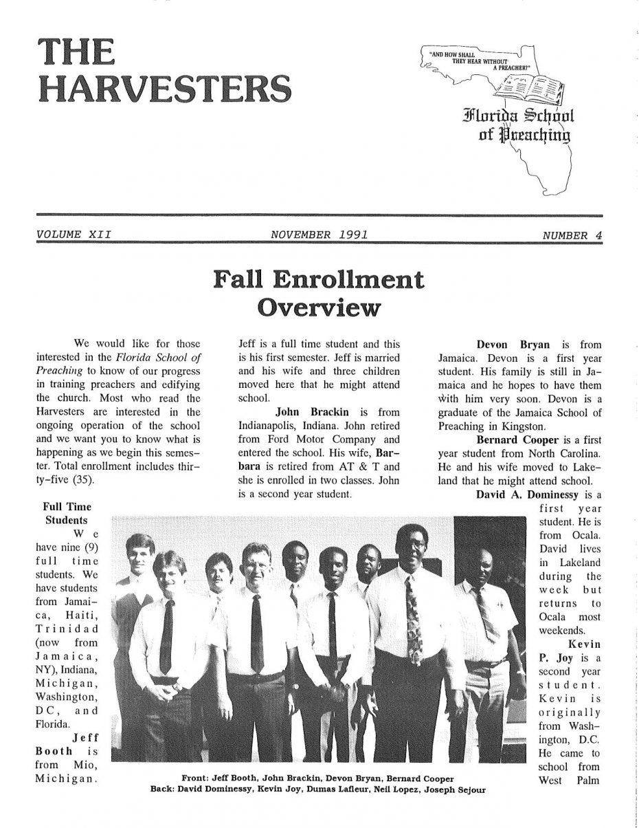 Harvester 1991 - Nov