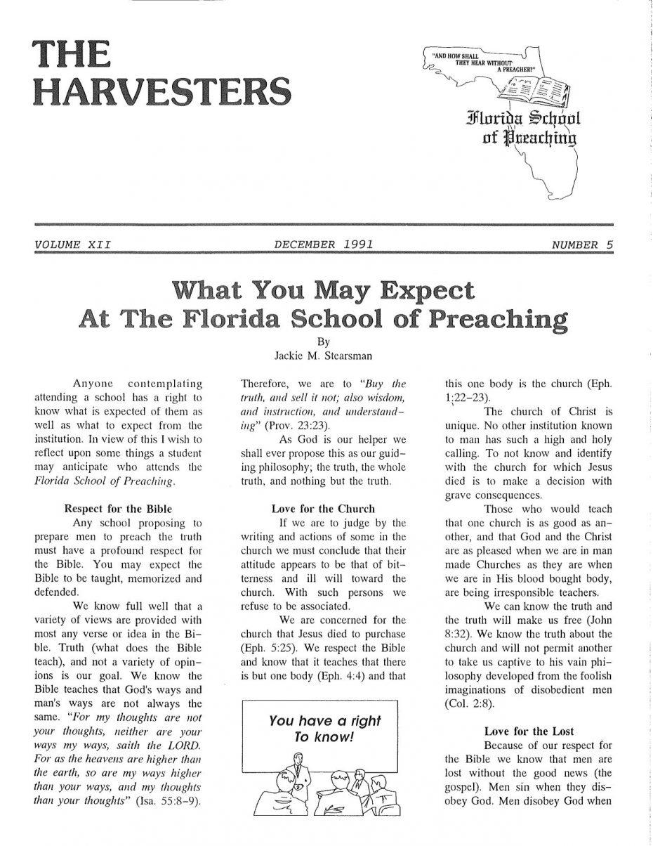 Harvester 1991 - Dec