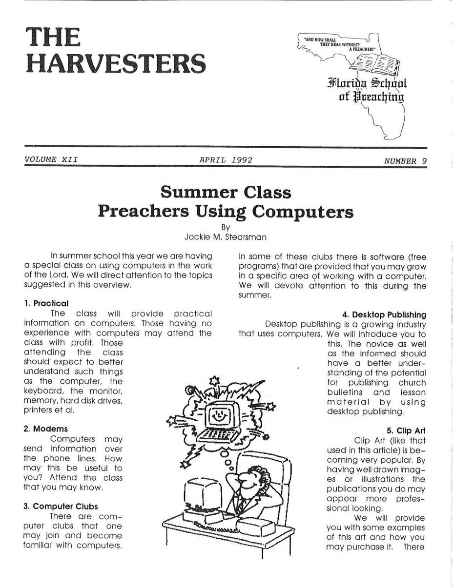 Harvester 1992 - Apr