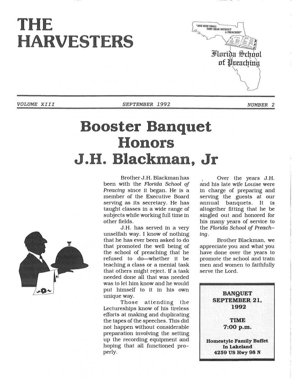 Harvester 1992 - Sept