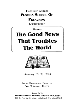 "Featured image for ""1995 (Print) - Good News That Troubles The World"""