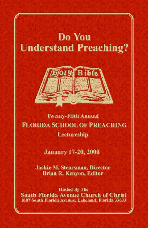 "Featured image for ""2000 (Print) - Do You Understand Preaching?"""