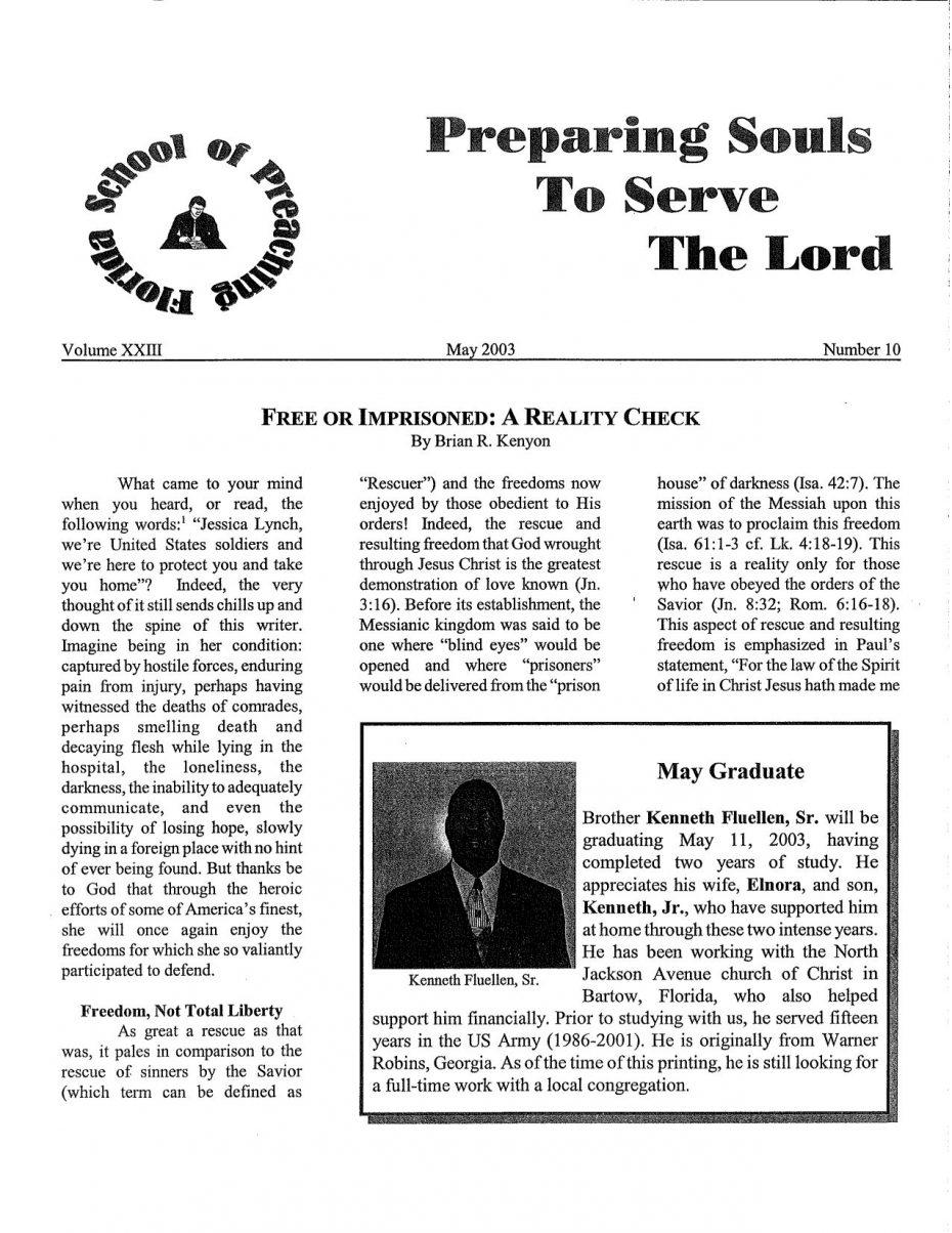 Harvester 2003 - May