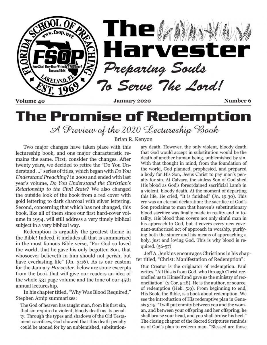 Harvester 2020 - Jan