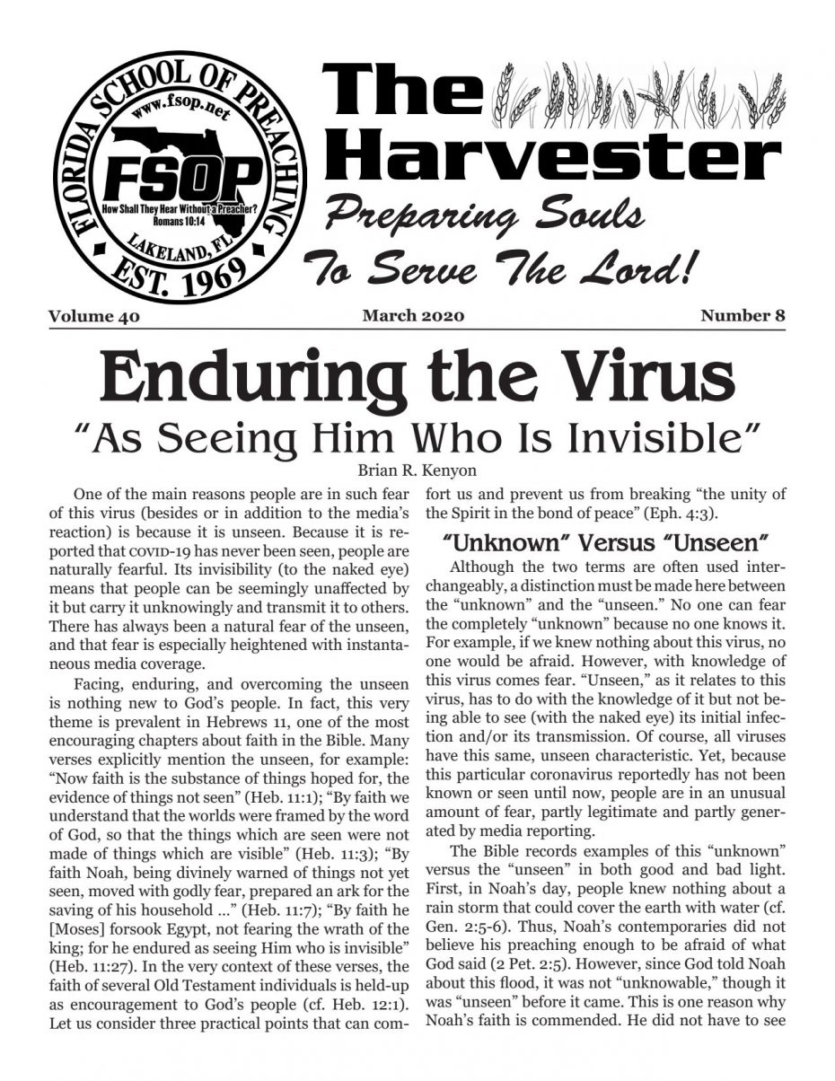 Harvester 2020 - March