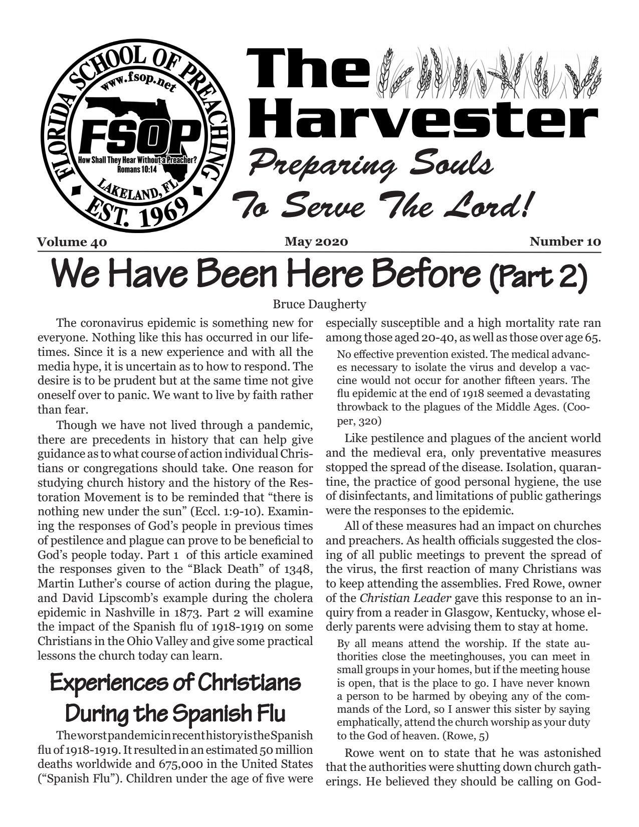 "Featured image for ""Harvester May 2020: We Have Been Here Before (Part 2)"""