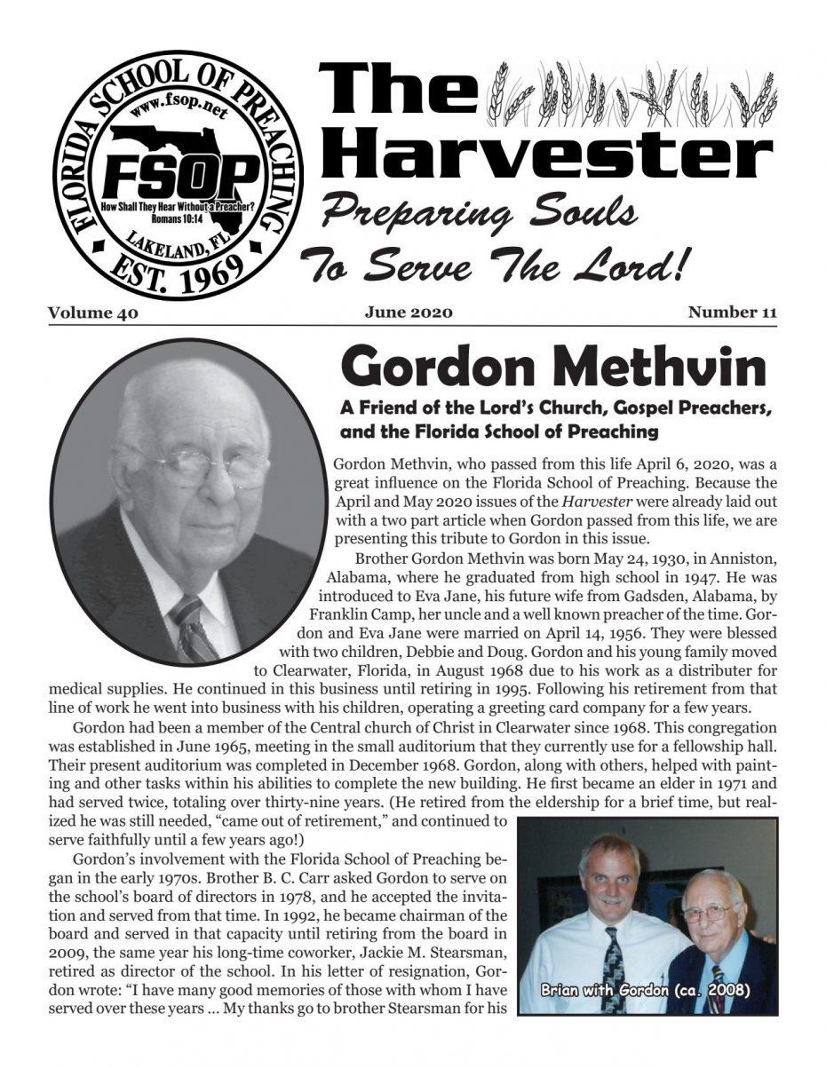 Harvester 2020 - June