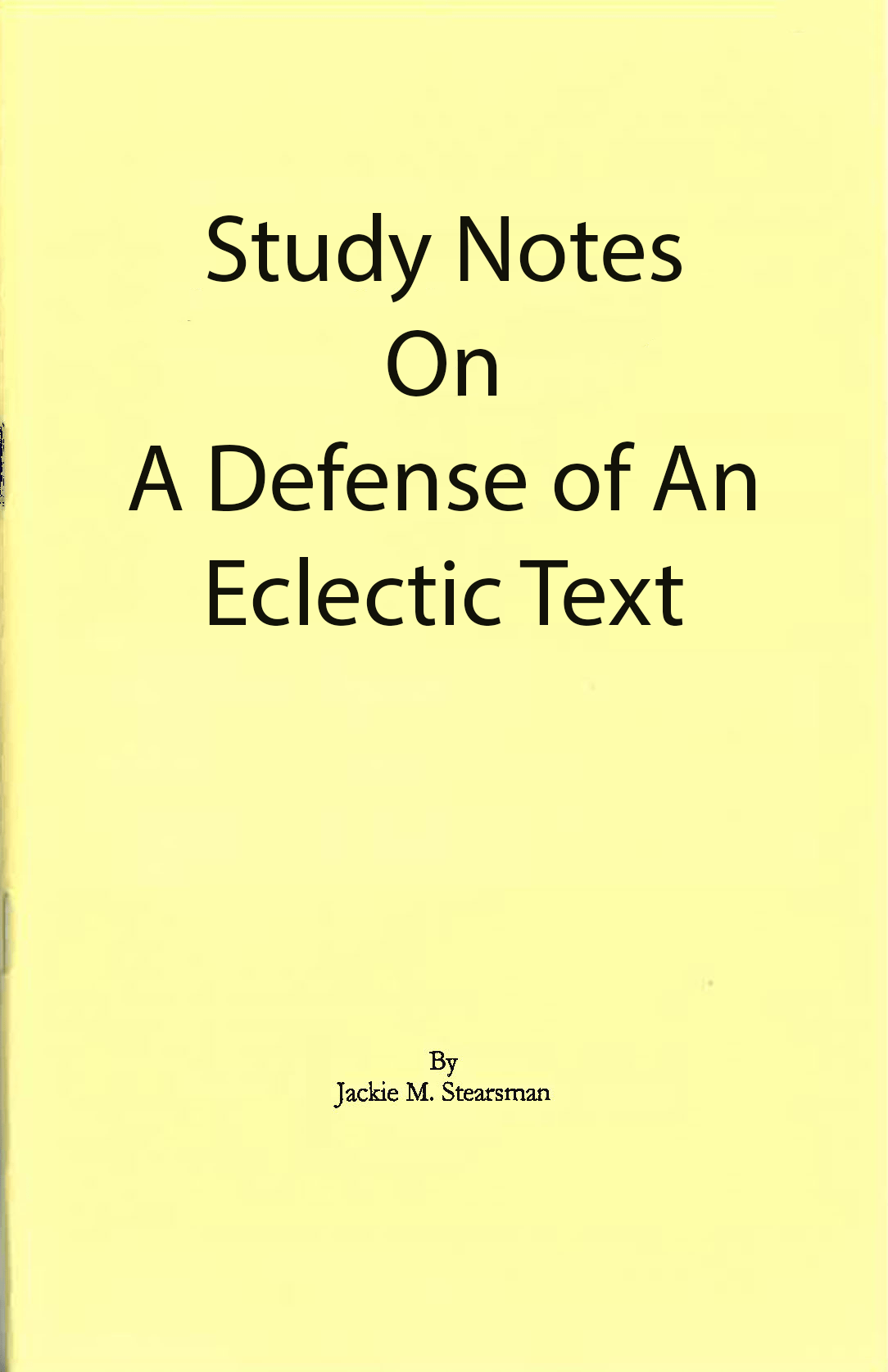 "Featured image for ""A Defense of the Eclectic Text"""