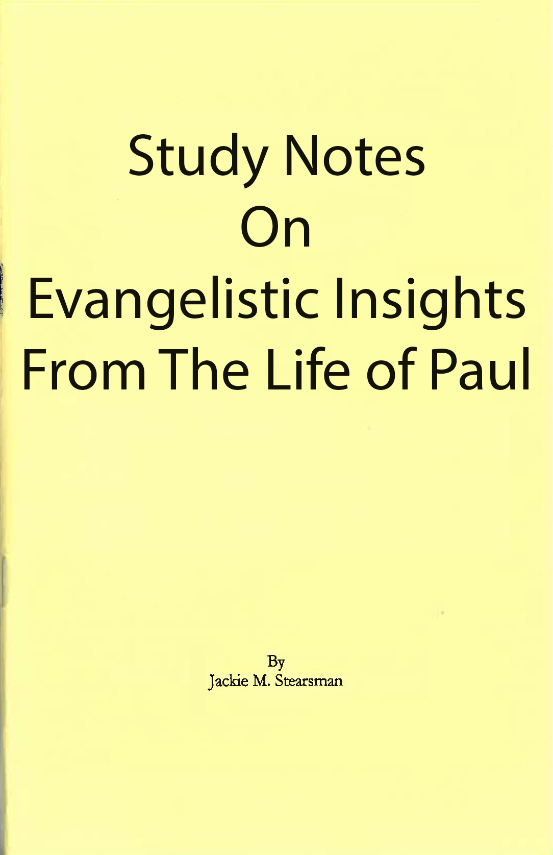 "Featured image for ""Evangelistic Insights from Life of Paul"""