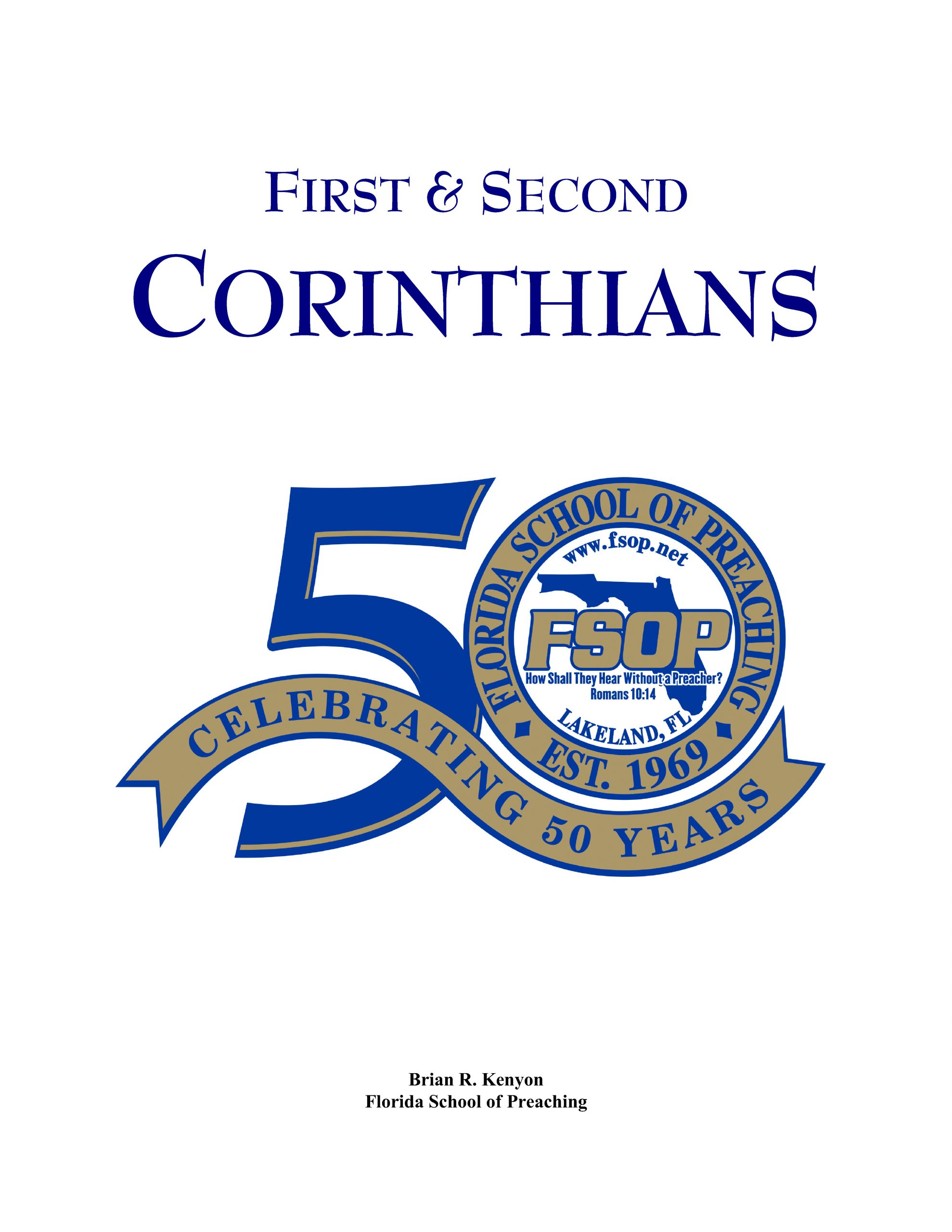 """Featured image for """"1st and 2nd Corinthians"""""""