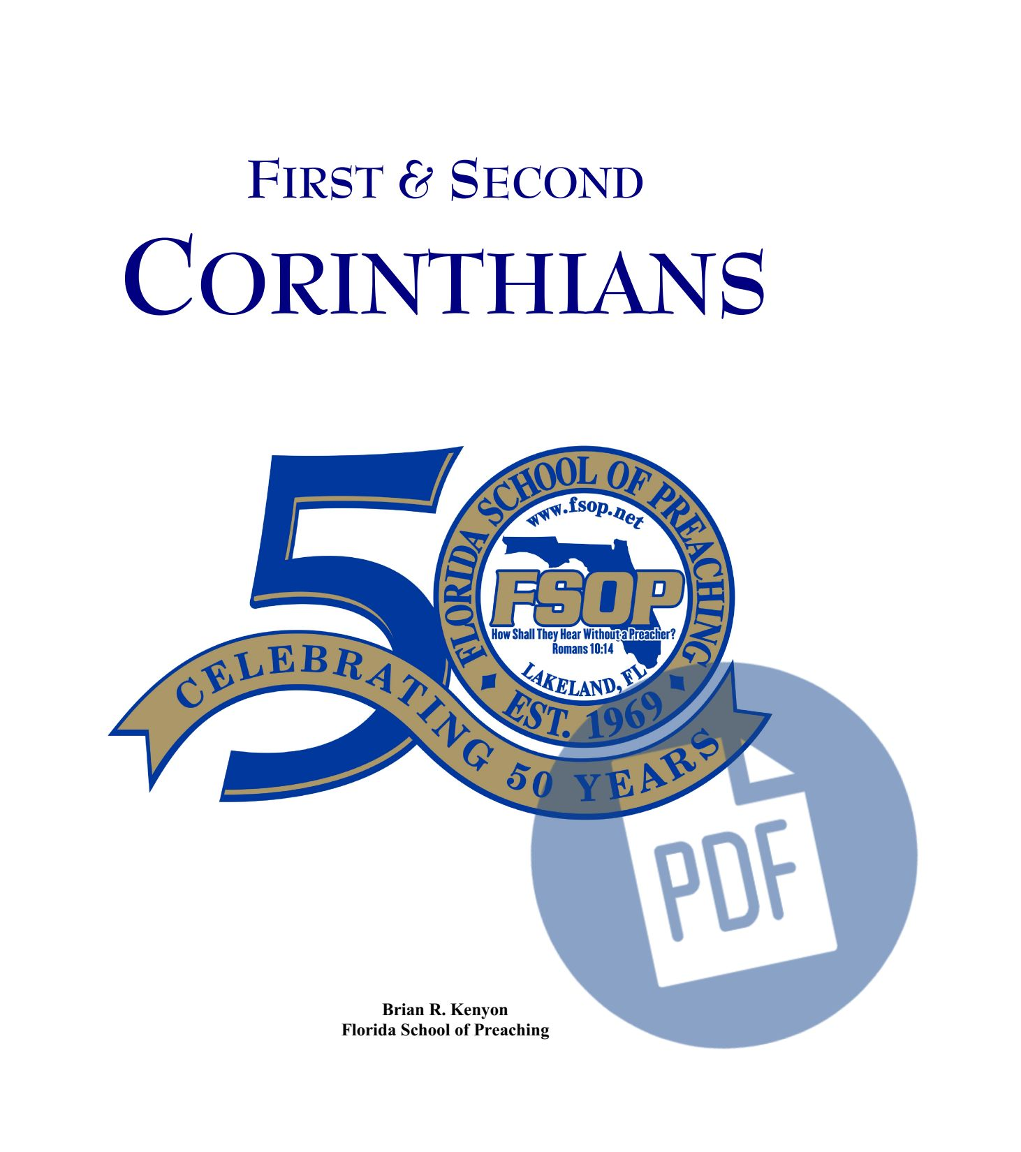 """Featured image for """"1st and 2nd Corinthians - PDF"""""""