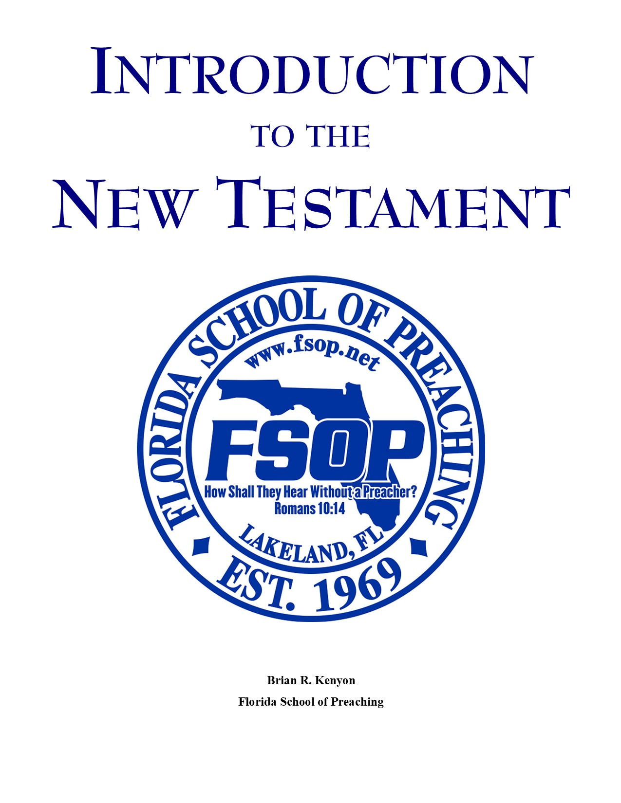 """Featured image for """"Introduction to New Testament"""""""