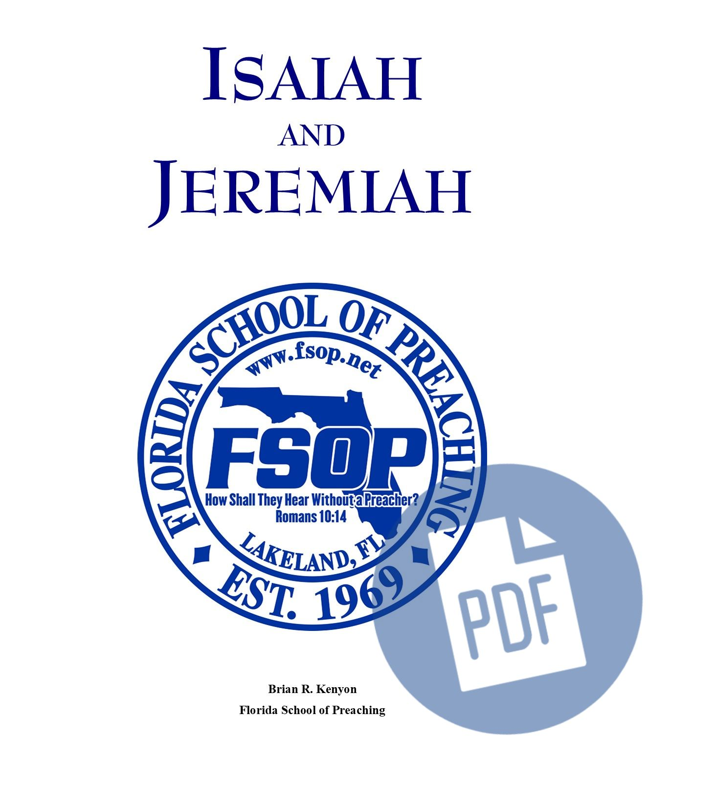 """Featured image for """"Isaiah/Jeremiah - PDF"""""""