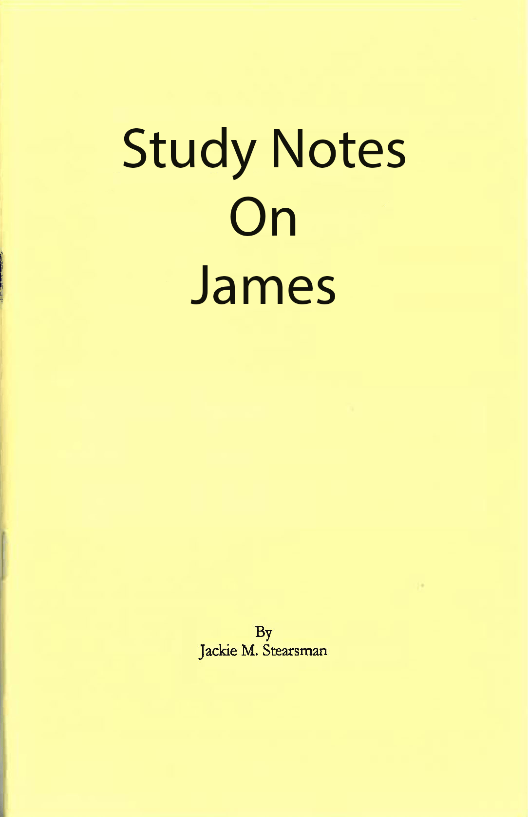 "Featured image for ""Study Notes on James"""