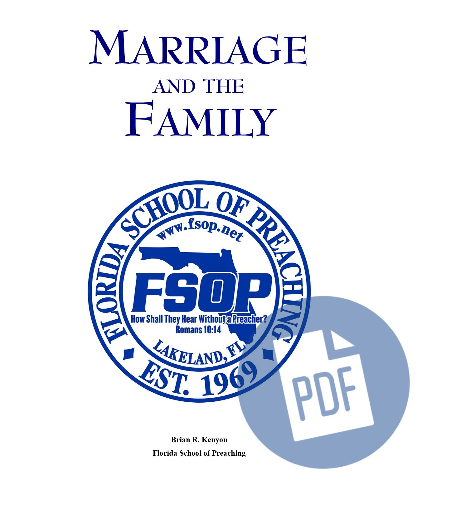 """Featured image for """"Marriage and the Family - PDF"""""""