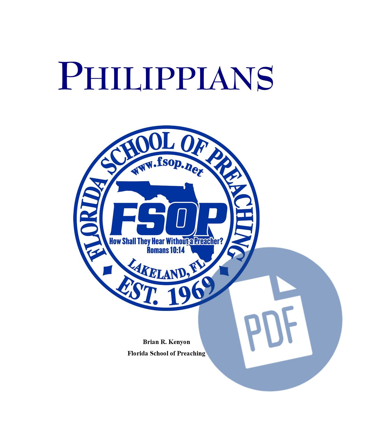 """Featured image for """"Philippians - PDF"""""""